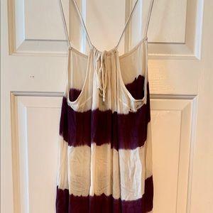Full length tie-dye Maxi Dress
